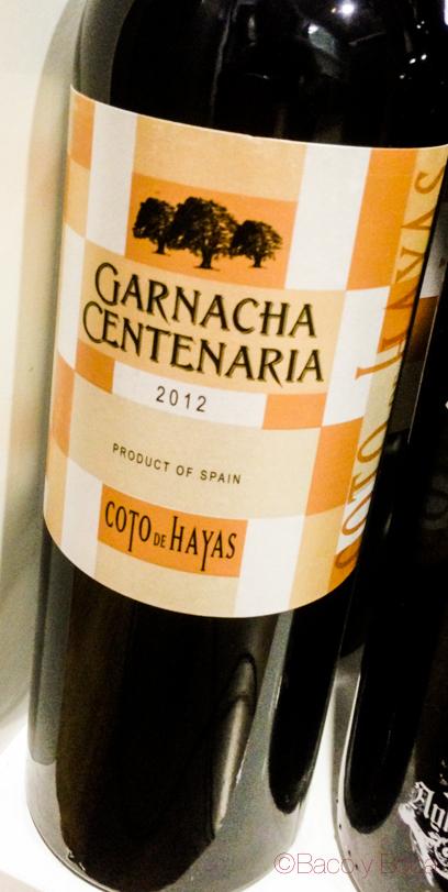 Garnacha centenaria 2012