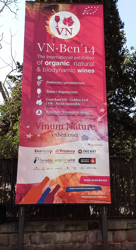 Cartel feria Vinum Nature 2014
