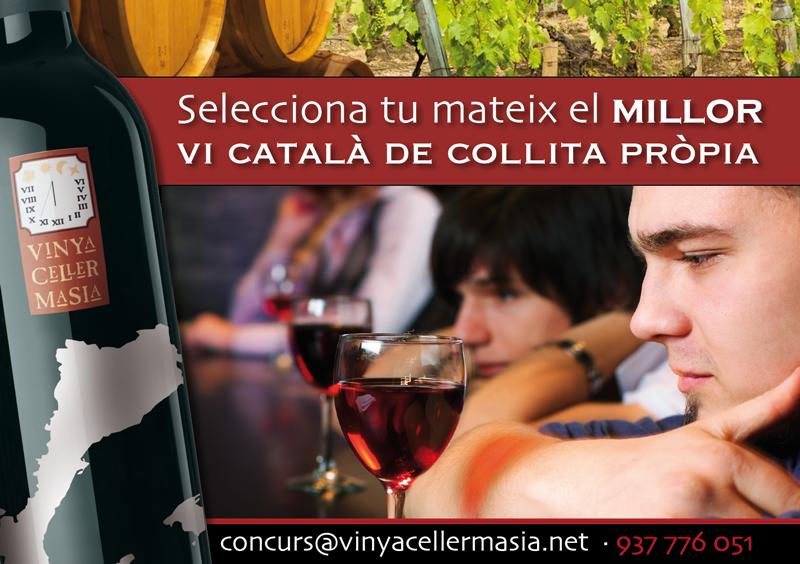 Concurs vinya celler Masia
