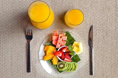 pre work barcelo sants breakfast