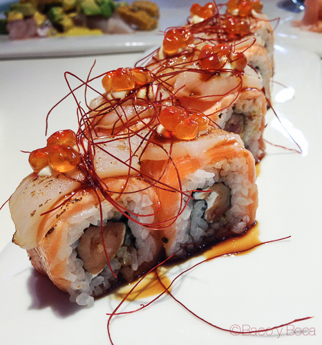 makis salmon miss sushi aribau baco y boca