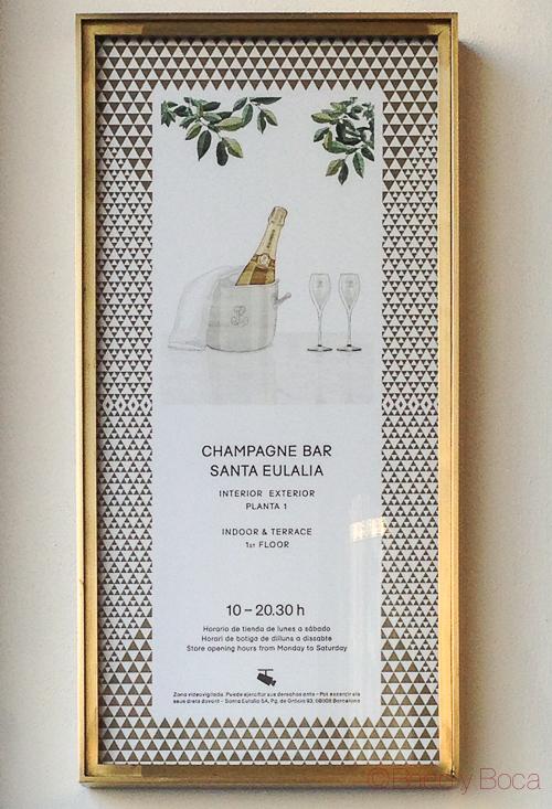 Champagne Bar Santa Eulalia baco y boca