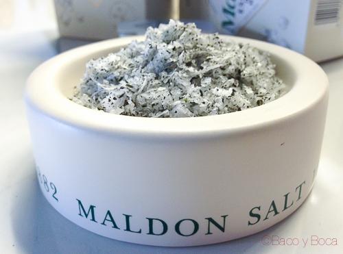 Sal Maldon con hierbas aromaticas bacoyboca