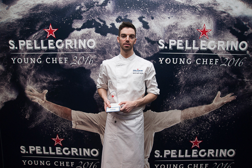 David Andres San Pellegrino Young Chef