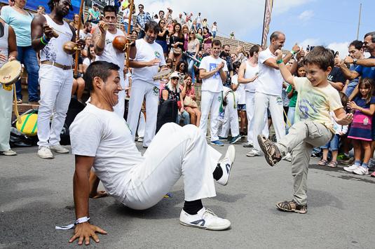 Capoeira Festival Día de Brasil