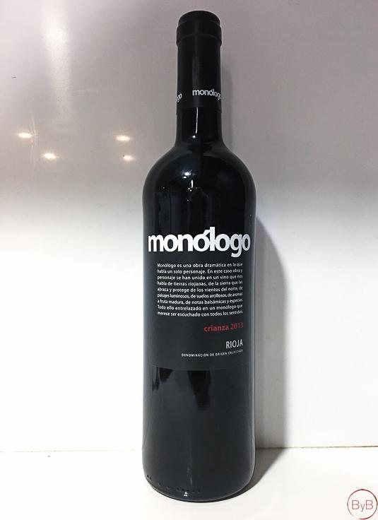 Vinos Monólogo Tinto Rioja