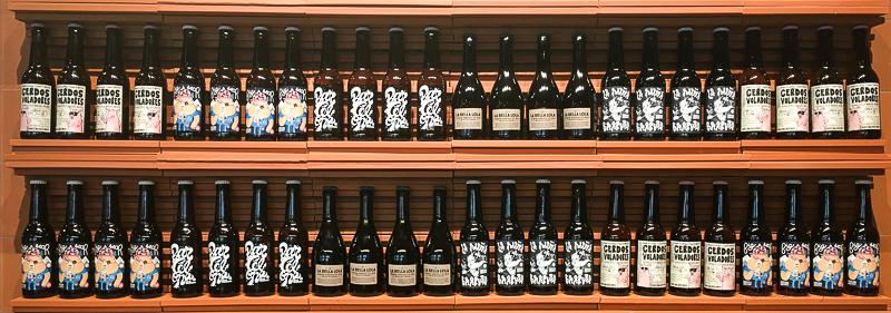 estanteria Barcelona Beer Company
