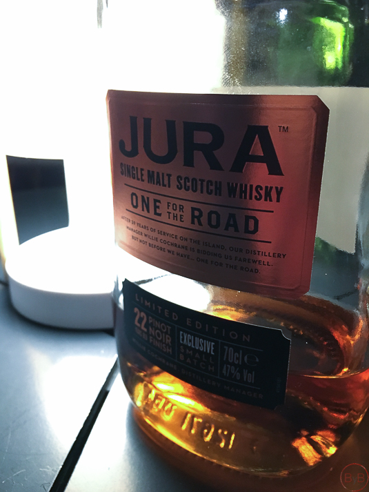 Whisky Jura one for the road