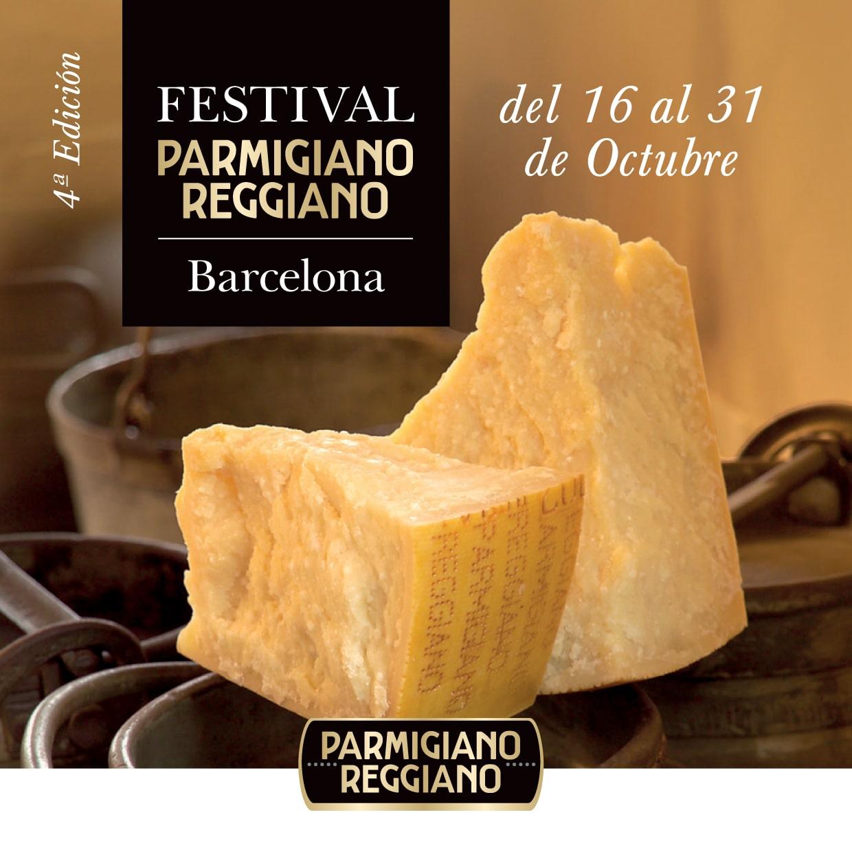 Festival Parmigiano Reggiano de Barcelona 2018.