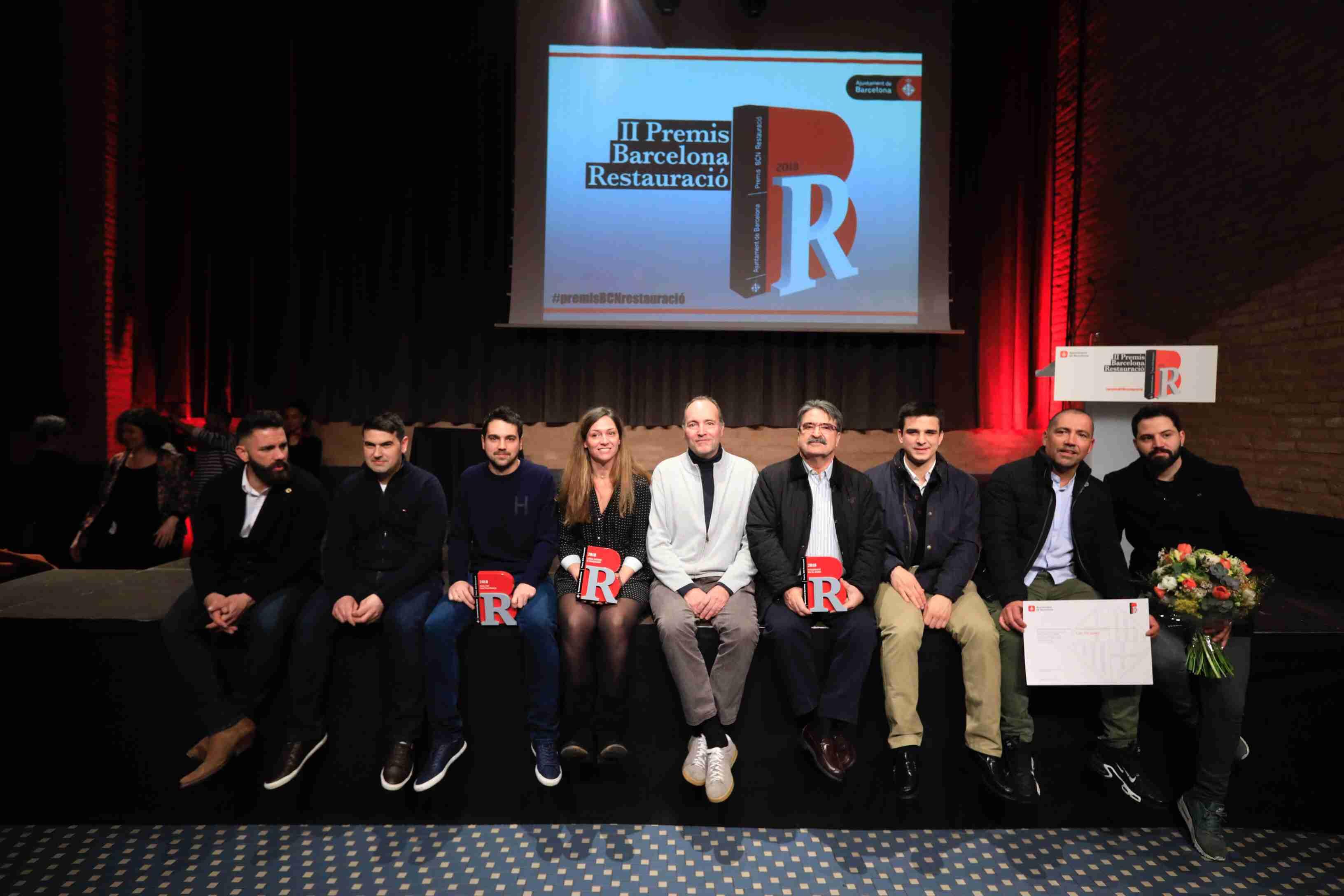 2ª Edición de los Premis Barcelona Restauració